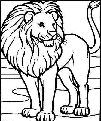 Dibujos de leones  LEONPEDIA